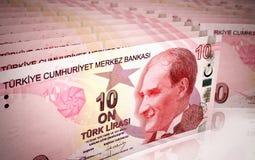 10 turkish lira Royalty Free Stock Photography