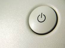 Turn on button Royalty Free Stock Photos