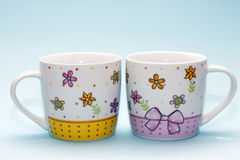Two cups Royalty Free Stock Photography