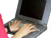Typing Stock Image