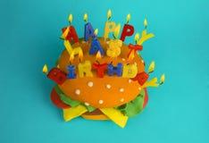 Ultimo compleanno felice Fotografie Stock Libere da Diritti
