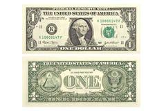 Un dollaro Fotografia Stock Libera da Diritti