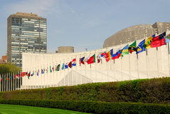 UN Headquarters in New York Royalty Free Stock Image