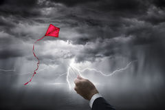 Uncertainty aspirations business - risk investment Stock Photography