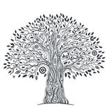 Unique ethnic tree of life Stock Photography