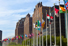 United Nations Headquarters Royalty Free Stock Images