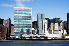 United Nations headquarters - New York City Royalty Free Stock Photography