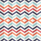 Unusual vintage 3D effect abstract geometric pattern. Stock Photography