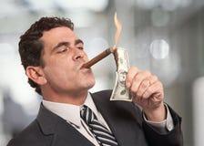 Uomo ricco Immagini Stock Libere da Diritti