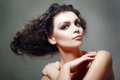 Updo hairstyle Stock Photos