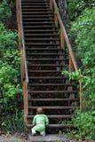 Uphill battle Stock Image