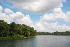 Upper Seletar Reservoir in Singapore Royalty Free Stock Photo