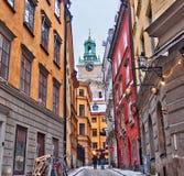 Gamla stan, Stockholm, Sweden Stock Photos