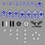 US Air Force Rank Insignia Royalty Free Stock Image