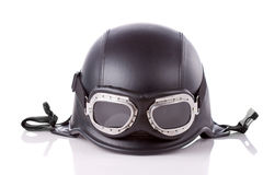 US army style motorcycle helmet Royalty Free Stock Image