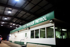 US Border Patrol Building Stock Photos