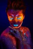 UV portrait Royalty Free Stock Images