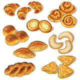 Variety of bakery Stock Images
