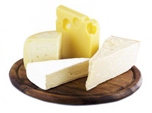 Variety of cheese Royalty Free Stock Photo