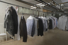 Variety Of Clothes In Laundry Royalty Free Stock Image