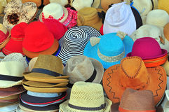 Variety of hats Stock Image