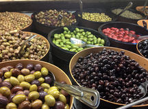 Variety Of Olives Stock Image