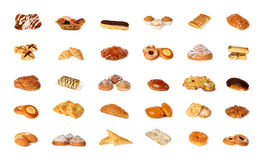 Variety of pastry Royalty Free Stock Photos