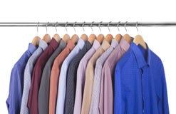 Variety of shirts Stock Photos