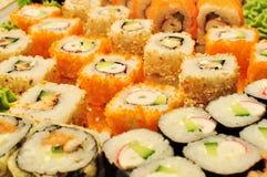 Variety of sushi Royalty Free Stock Photo