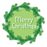 Vector banner Merry Christmas Stock Photo