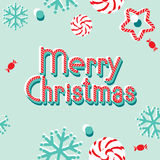 Vector banner Merry Christmas Stock Photos