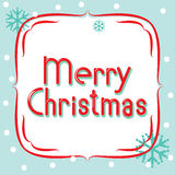 Vector banner Merry Christmas Royalty Free Stock Image