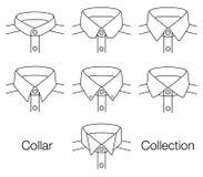 Vector Collar Collection Stock Photos