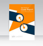 Vector design for Cover Report Annual Flyer Poster in A4 size Stock Photo