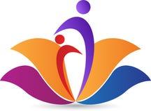 Lotus logo Stock Photos