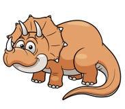Cartoon dinosaur Royalty Free Stock Image