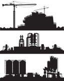 Vector illustration of industry area Stock Photo