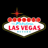 VECTOR: LasVegas sign at night (EPS format available) Stock Photography