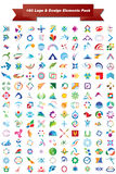 Vector logo & design elements Pack Royalty Free Stock Images