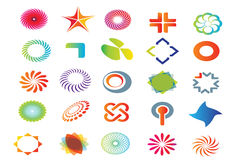 Vector logo graphics Stock Image
