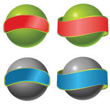 Vector orb Royalty Free Stock Images