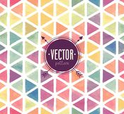 Vector Watercolor seamless pattern. Royalty Free Stock Images