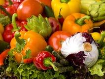 Vegetable arrangement Stock Photography