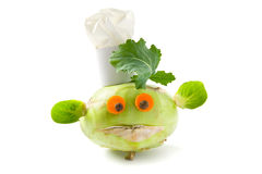 Vegetable creature Royalty Free Stock Photography