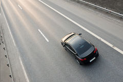 Vehicle Driving On Highway Stock Image