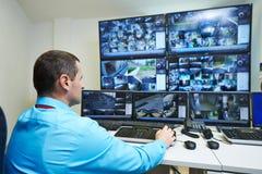 Veiligheids videotoezicht Stock Foto