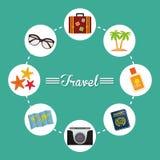 Verano, vacaciones y trave Fotografía de archivo libre de regalías