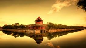 Verboden Stad van Peking China Stock Foto