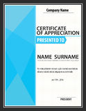 Vertical certificate template,diploma,Letter size ,vector Stock Photo