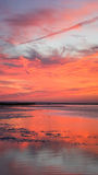 Vertical Sunset Rock Harbor Cape Cod New England Royalty Free Stock Photos